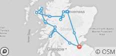 Isle of Skye, Loch Ness & Inverness incl. accom. - 20 destinations
