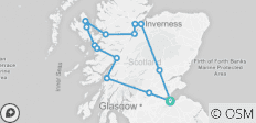 Isle of Skye, Loch Ness & Inverness (B&B) - 14 destinations