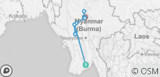 Luxury Irrawaddy 2019/2020 (11 destinations) - 11 destinations