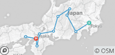 Trails of Japan - 11 destinations