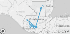 Colours of Guatemala - 14 destinations