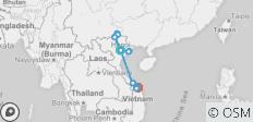 10 Day: Ha Giang Loop by Motorbike - Halong bay and Cat Ba Island kayaking - Hue History discover and Hoi An Cycling - 13 destinations