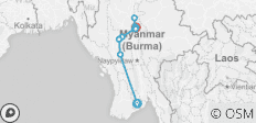 Luxury Irrawaddy 2019/2020 (Start Yangon, End Mandalay) - 10 destinations