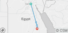 4 Nights Luxor Nile Cruise by flight from Cairo - 5 destinations