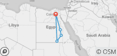 Egypt Explorer Cairo,Luxor,Aswan and Abu Simbel - 5 destinations