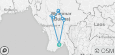 Very Best of Myanmar - 11 Days - 10 destinations