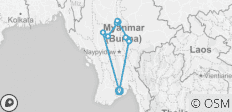 11 Day Very Best of Myanmar Tour - 10 destinations