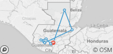 GUATEMALA TO BE DISCOVERED - CULTURAL TOUR  - 9 destinations