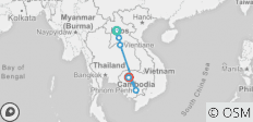Cambodia And Laos Uncovered (9 Days) - 9 destinations