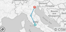 3 Nights Rome, 2 Nights Florence & 5 Nights Venice - 3 destinations