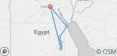 9-Day Nile Jewel, Cairo, Nile Cruise & Hurghada (4 stars & Domestic flight) - 7 destinations