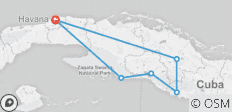 Cuba 7 Day People to People for U.S. Citizens - 6 destinations