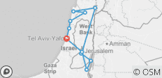 Discover the Holy Land - 12 destinations