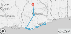 Ghana Coastal Expeditions And Historical Experience - 9 destinations