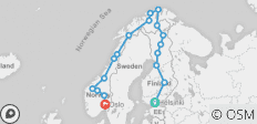 Northern Highlights & The Arctic Circle 2019 - 18 destinations