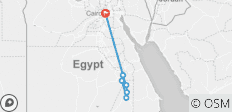 12 Day Wonders of  Egypt (Cairo & 7 Nights Cruise) Private tour - 8 destinations