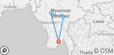 7 Day Essential Myanmar in Short Time - 7 destinations
