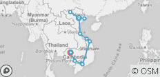Simply Vietnam with Sapa & Cambodia (from Hanoi to Siem Reap) - 19 destinations