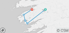 Self-Guided Walking the Kerry Way and Killarney N.P. - Short Break - 5 destinations