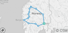 Scenic Norway 2019 - 15 destinations