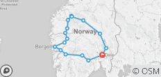 Scenic Norway - 16 destinations