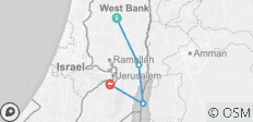 Walking in the Palestinian Territory - 4 destinations
