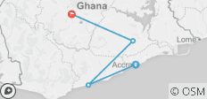 Ghana Research Tours - 4 destinations