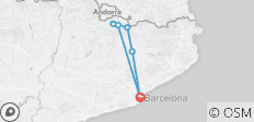 Pyrenees-Barcelona Bike Tour - 6 destinations