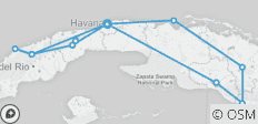 Cycle Cuba - 13 destinations
