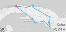 Cycle Cuba: East - 11 destinations