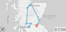 2019 Scottish Supreme - 8 days/7 nights - 10 destinations
