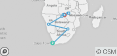 Southern Africa: travel to the ends of the earth with extended stay at the Cape of Good Hope (port-to-port cruise) - 12 destinations