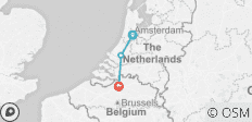 Springtime in Holland (port-to-port cruise) (from Amsterdam to Antwerp) - 3 destinations