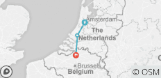 Holland and its tulips (port-to-port cruise) - 3 destinations