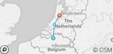 Springtime in Holland (port-to-port cruise) (from Antwerp to Amsterdam) - 3 destinations