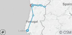 Lisbon, Porto and the Douro valley (Portugal) and Salamanca (Spain) (port-to-port cruise) - 11 destinations
