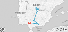 Madrid to Andalusia - 6 destinations