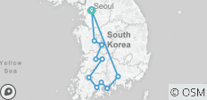 Seoul & Western Korea 7 Days_ Airport Service included - 11 destinations