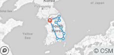Seoul & Eastern Korea - 7 Days (Airport Service Included) - 9 destinations