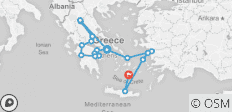 Best of Greece (10 Days) - 18 destinations