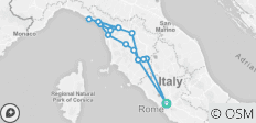 7-Day Tour of Tuscany, Florence and Cinque Terre from Rome Airport - 15 destinations