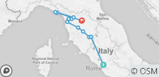 3-Day tour from Rome: Tuscany Countryside, Pisa, Siena, Lucca and Cinque Terre - 12 destinations