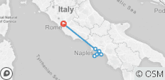 Naples, Pompeii, Sorrento, Capri & Amalfi: 5 Day tour from Rome - 7 destinations
