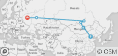 The Russian Express - 7 destinations