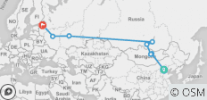 The Russian Express - 8 destinations