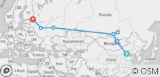 The Russian Express - 10 destinations