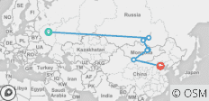 The Siberian Shuttle - 7 destinations