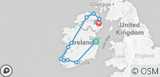 Country Roads Of Ireland - End Belfast , Summer 2020 (12 Days) - 12 destinations