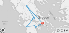 Glories of Greece (Winter 2018-19, 7 Days) - 8 destinations