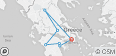 Glories of Greece (Winter 2018-19, 8 Days) - 7 destinations